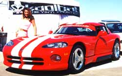 My Viper at Buttonwillow Raceway